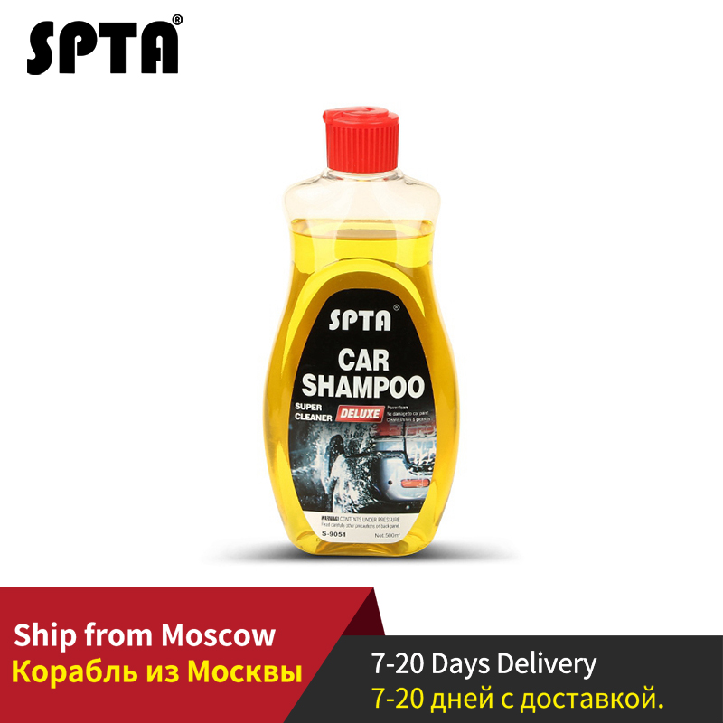 SPTA 500ml Car Shampoo Speedy Cleaning Paint Cleaner Liquid Wax For Cleaning Paint Surface, Car Wheel, Vehicle Interior
