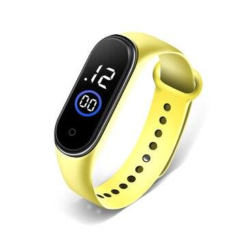 Waterproof Children Boys Girls Digital LED Quartz Alarm Date Sports Wrist Watch New Arrival Freeshipping Hot Sales Sport Watches 2