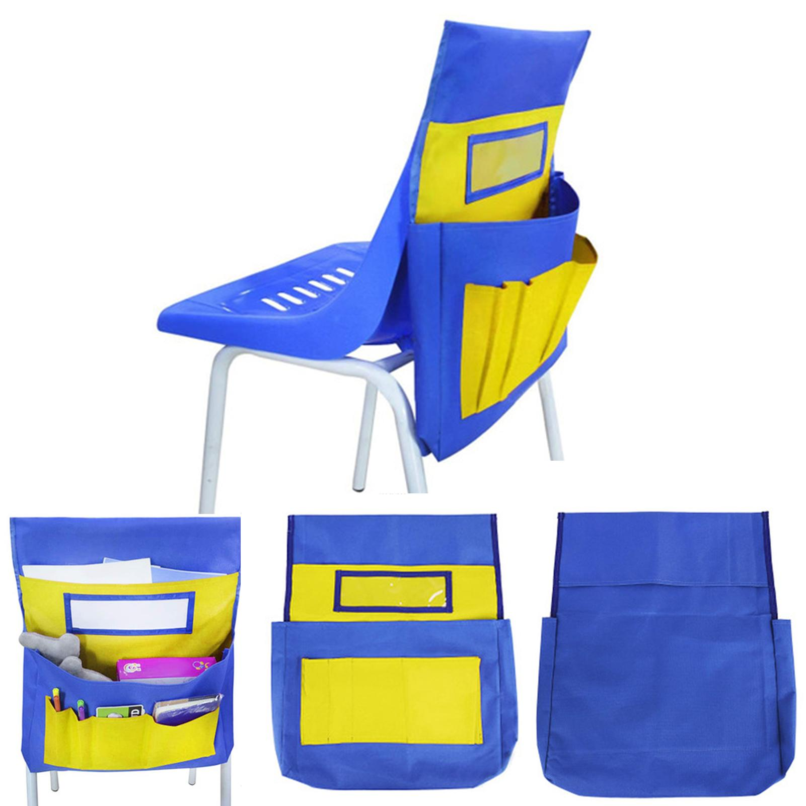 HOT SALES!!!New Arrival School Stationery Organizer Pocket Sundries Collection Chair Back Storage Bag