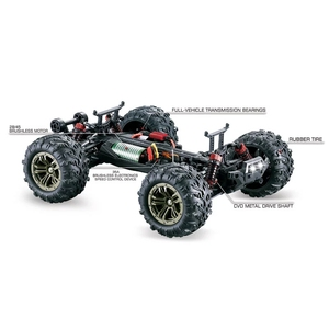 Image 5 - RC samochód do driftu bezszczotkowy silnik bezszczotkowy esc 2.4G RC samochód 4WD 52 km/h szybki Buggy monster truck antywibracyjny Drift Racing Toy