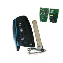 Wilongda carro inteligente chave do carro 434mhz id46 (7952) chip para nova hyundai santa fe keyless chave remota