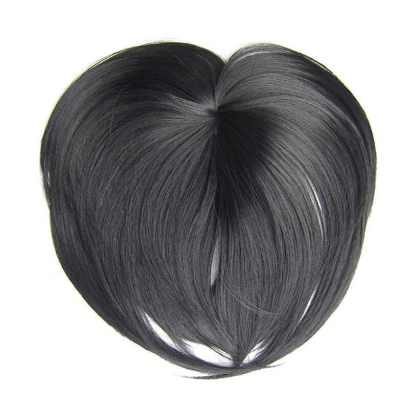 Синтетические волосы на клипсе 18 цветов, термостойкие короткие прямые волосы для наращивания, коричневый блондин, верхнее закрытие, шиньон...