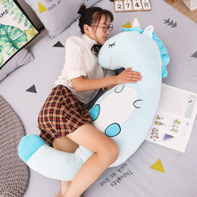 Children's Large Animal Pillow and Sleeping plush toy Soft Stuffed Unicorn dinosaur pig Cushion Doll Gift стоимость