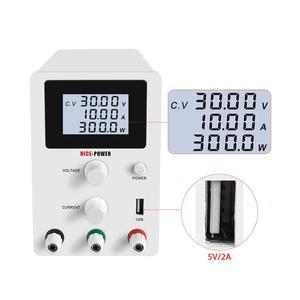 Image 4 - DC Labor Netzteil Einstellbar 30V 10A 60V 5A Bank Quelle labor Schalt netzteile Spannung Strom Regler