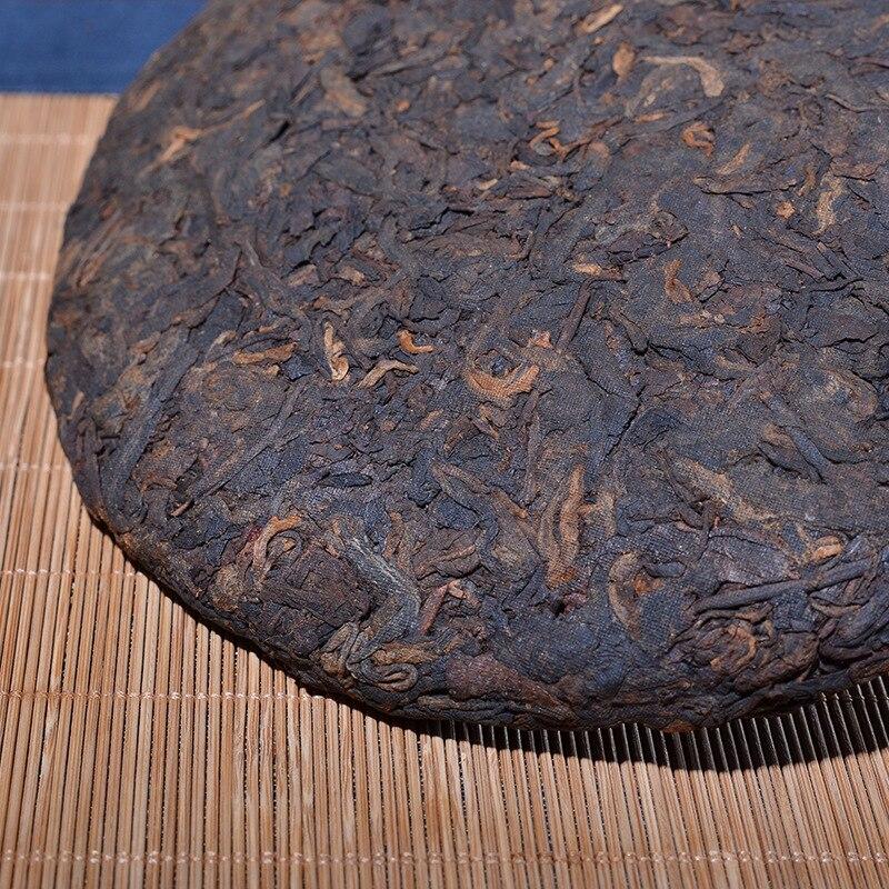 Old Pu'er Tea 357g Chinese Tea 2018 Year Yunnan Ripe Pu'erh Tea Aged Shu Pu-erh Best Organic Tea For Lose Weight Health Food 3