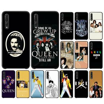 YNDFCNB Freddie Mercury Queen Band Phone Case For Huawei P10 20 30 40 Lite P20Pro P30Pro P40Pro Psmart image