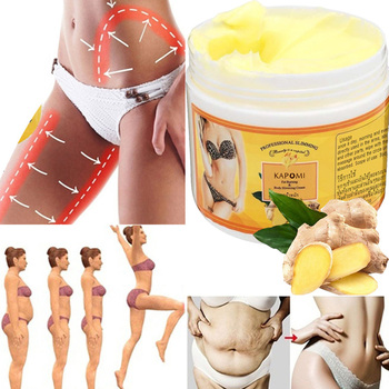 Ginger Fat Burning Cream Anti-cellulite Fat-Lossing Cream Body Weight Loss Slimming Massage Legs Legs Effectively Reduce Cream 85ml anti cellulite 7 days slimming body cream hot chili ginger stubborn fat burn detox lose weight burning fat cream firming