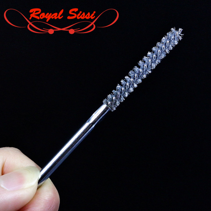 Royal Sissi New 1pcs Super Fine Stainless Wire Fly Tying Dubbing Brush Professional Fly Tying Tools For Rake Dubbing Materials