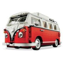 Em estoque 960 peças blocos de construção compatível 10271 fiated 500 cidade carro criador série modelo crianças presente brinquedos