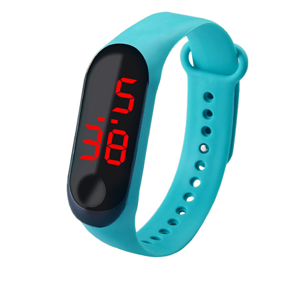 Simple Women Watch Waterproof Feel Screen Led Sports Fashion Electronic Watch Relgio esportivo quente reloj inteligente mujer 3