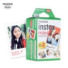 Oryginalna Fujifilm Instax Mini 8 9 Film 60 200 arkusz Fujifilm Instax Mini biała folia do Fujifilm Instax Mini 7s/8/25/90/9 Film