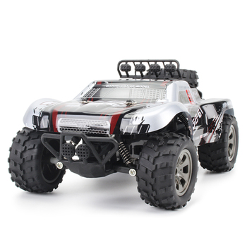 1:18 48KM/H 2.4G Machines Remote Control Model Vehicle Kids Electric RC Car Gift Climbing Big Tire Off Road Truck High Speed 1