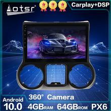 Автомобильное радио для Jeep Grand Wrangler JK Android радио авто стерео Автомобильный GPS навигатор 2011-2017 PX6 головное устройство Автомобильный мультимед...