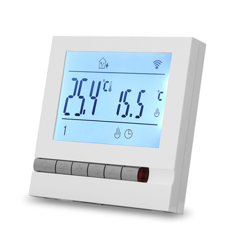 Professional Intelligent LCD Programmable Inddor Floor Heating Room Thermostat  for Floor Room Temperature Controller Device