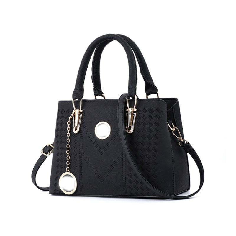Fashion New Style PU Messenger Bag Elegant Shoulder Bag Women Lady Handbag