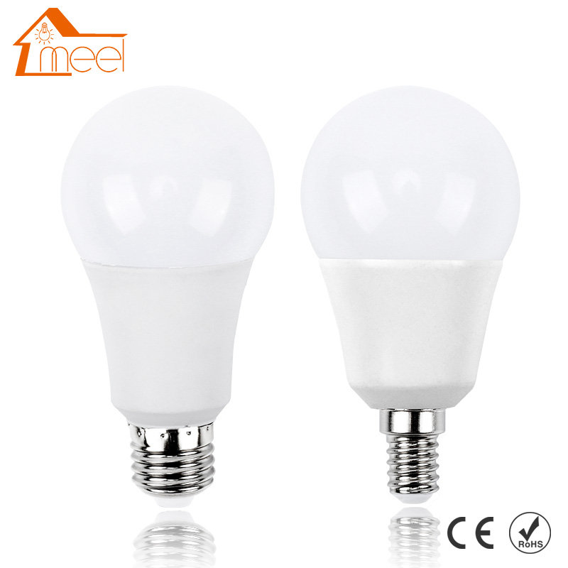 LED Bulb E27 E14 220V 240V Real Power 3W 5W 7W 9W 12W 15W Lampada Ampoule Bombilla LED Light Bulb Smart IC Energy Saving Lamp
