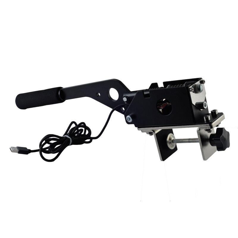 SIM USB Freno A Mano per Giochi di Corse G25/27/29 T500 FANATECOSW DIRT RALLY NERO HB-02-BK