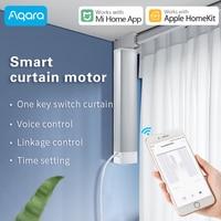 Aqara Smart Auto electric curtains motor and Curtain rail track Set Customized ZigBee support Xiaomi Mi Home and Apple HomeKit