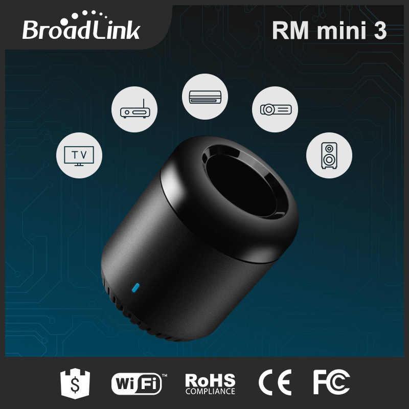 Broadlink RM Mini 3 wifi ИК-пульт дистанционного управления для умного дома Автоматизация приложение с Alexa Google Home mini для xiaomi huawei samsung