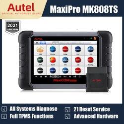 Autel MaxiCOM MK808TS MK808BT OBD2 Scanner Car Diagnostic Scan Tool For Auto OBD 2 TPMS Sensor Programing PK MK808 MP808TS