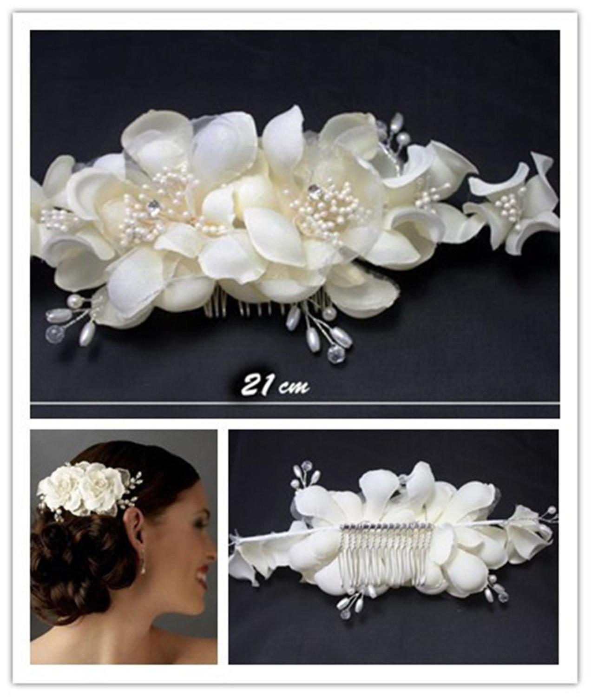 Bridal Diamonds With Pearl Tiara Hair Band Wedding Tiara Hairpin Bridal Hair Band