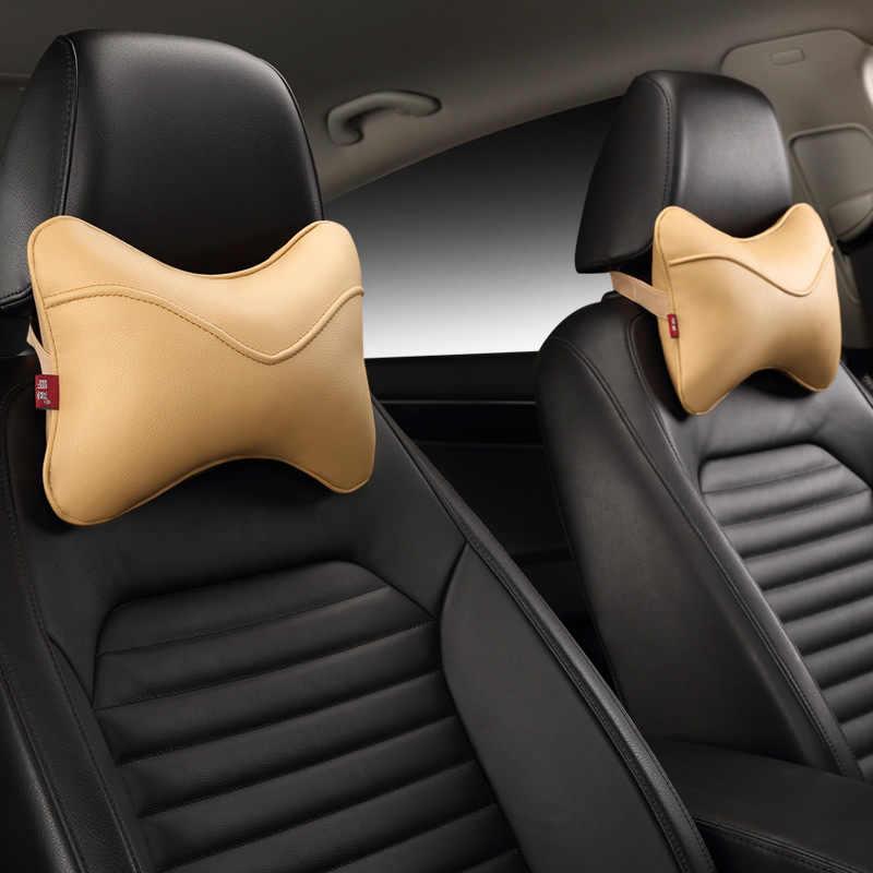 2 шт. подушка для автомобильных путешествий под шею автомобильные аксессуары Автомобильный подголовник Подушка Водителя подголовник в автомобиле автомобильный продукт