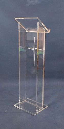 Customized Acrylic Podium Pulpit Lectern Podium Acrylic