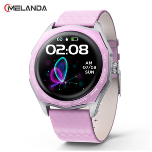 Image 1 - Fashion Women Smart Watch Waterproof Heart Rate Blood Pressure Monitor Smartwatch Gift For Ladies Watch Bracelet Full Touch