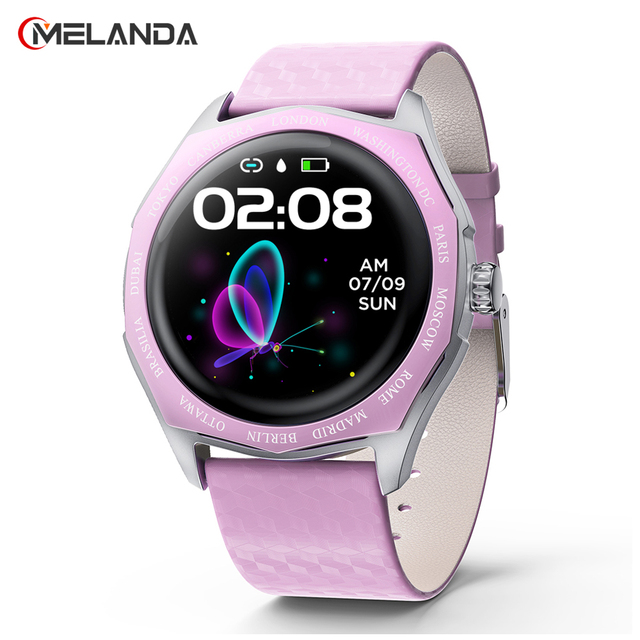 Fashion Women Smart Watch Waterproof Heart Rate Blood Pressure Monitor Smartwatch Gift For Ladies Watch Bracelet Full Touch