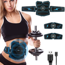 Vibration Fitness Massager Slimming Belt Abdominal Muscle Stimulator Toner EMS Trainer Home Gym Belly Electric Exercises Machine