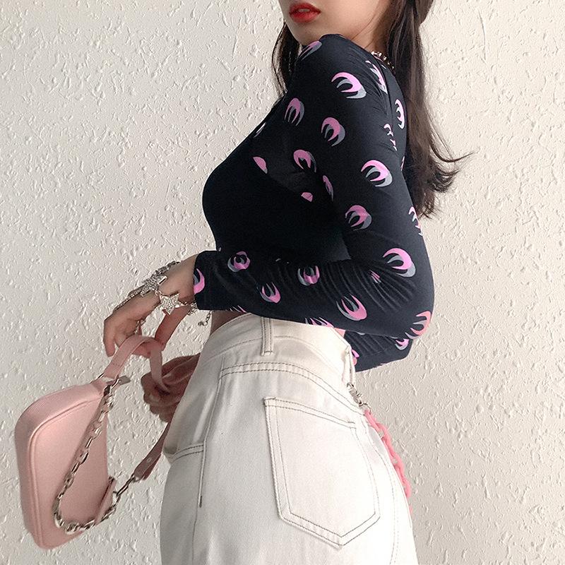 Женский комплект из двух предметов goth girl модный сексуальный