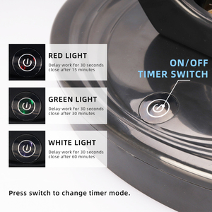 Image 3 - 110V 220V שלט רחוק אולטרה סגול לחיטוי מנורת 38W UV חיטוי אור גבוהה אוזון UVC קוטל חידקים מנורה
