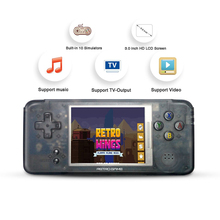 Classic Retro Handheld Game Console Video Player 3.0 inch Screen 16GB 64 bit game Portable Games Built-in 3000