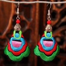 Богемные морские серьги капли для женщин винтажные этнические