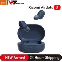 Xiaomi Redmi AirDots 3 Mi True Wireless Bluetooth 5.2 słuchawki Stereo Auto Link inteligentne zużycie apt-x adaptacyjne sterowanie dotykowe zestaw słuchawkowy
