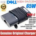 Новый оригинальный адаптер переменного тока USB type-C PD 65 Вт для Dell Latitude 5290 5290 7285 7389 Thunderbolt3 20 в 7390 а зарядное устройство источник питания