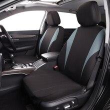 Otomobil koltuk kılıfları koruyucuları kolay kurulum yıkanabilir hava yastığı uyumlu düşük kova evrensel