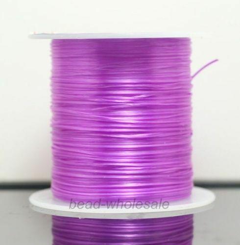 393 дюйма/рулон, крепкий эластичный шнур для бисероплетения с кристаллами, 1 мм, для браслетов, стрейчевая нить, ожерелье, сделай сам, для изготовления ювелирных изделий, шнуры, линия - Цвет: Color 17