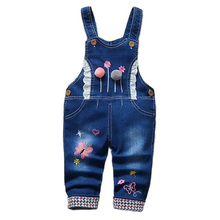 Kids Baby Long Pant Jeans Overalls Spring Autumn Casual Kids Boy Toddler Infant Girl Long Pants Denim Jeans Overalls Dungarees