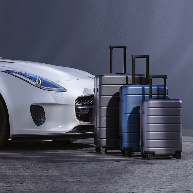 Classic Travel Suitcase On Wheels