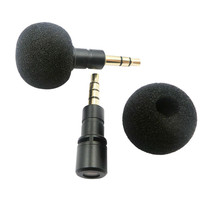 Портативный 3,5 мм 4-полюсный разъем микрофон сотовый телефон Смартфон Динамик голос микрофон для Регистраторы компьютер