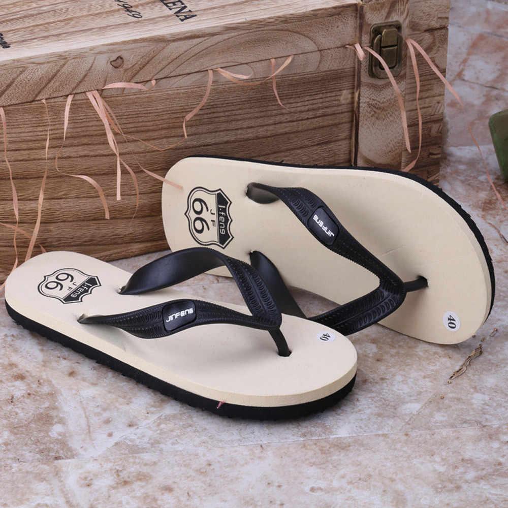 2019 nuevos Zapatos de verano para Hombre, sandalias de playa de alta calidad, antideslizantes, Zapatos casuales para Hombre, zapatillas de ducha para Hombre