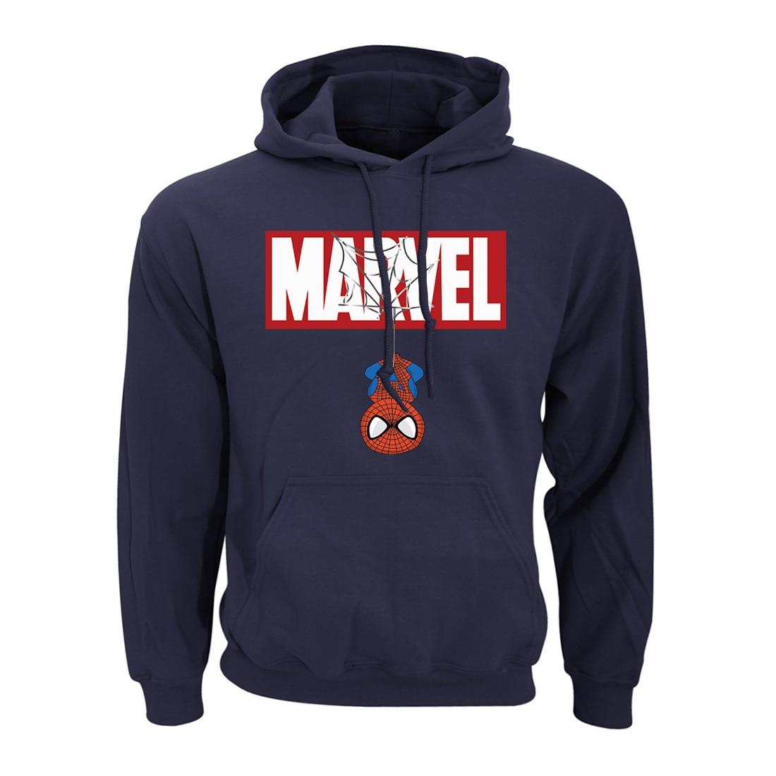Marvel Surp Hero Men Funny Hoodie Spider Man Pullover Peter Parker Sweatshirts Surphero Streetwear Hooded Sportswear Hoody Coat
