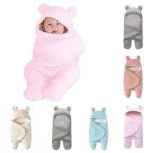 ARLONEET/спальный мешок для новорожденных; Пеленальное Одеяло с рисунком; фланелевый Зимний Теплый Пеленальный мешочек; халат; конверт; gd09