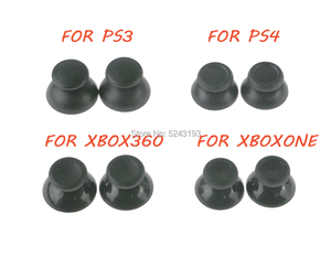 Image 1 - 200 adet 3D Analog Joystick sopa modülü için mantar kap Sony PS4 Playstation 4 PS3 Xbox one Xbox 360 denetleyici Thumbstick kapak