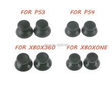 200 pièces 3D Joystick analogique bâton Module champignon bouchon pour Sony PS4 Playstation 4 PS3 Xbox one Xbox 360 contrôleur housse de pouce