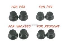 200pcs 3D אנלוגי ג ויסטיק מקל מודול פטריות כובע עבור Sony PS4 פלייסטיישן 4 PS3 Xbox אחד Xbox 360 בקר thumbstick כיסוי