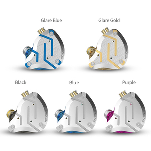 Image 4 - KZ ZS10 Proหูฟังตัดเสียงรบกวน4BA + 1DD Hybrid 10ไดร์เวอร์HIFI Bassหูฟังหูฟังโลหะชุดหูฟัง