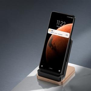 Image 3 - Originele Xiaxiaomi Draadloze Oplader 55W Max Verticale Luchtgekoelde Draadloze Opladen Ondersteuning Snelle Oplader Voor Xiaomi 10 Voor iphone
