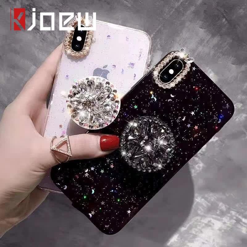 Luxury Diamond Ring Holder Iphone XS